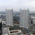 Predané: 2 izbový byt v Sky parku, I Veža, 6 nadzemné podlažie, úžitková 46,28 m2 ,Loggia 4,75m2, parkovanie-6
