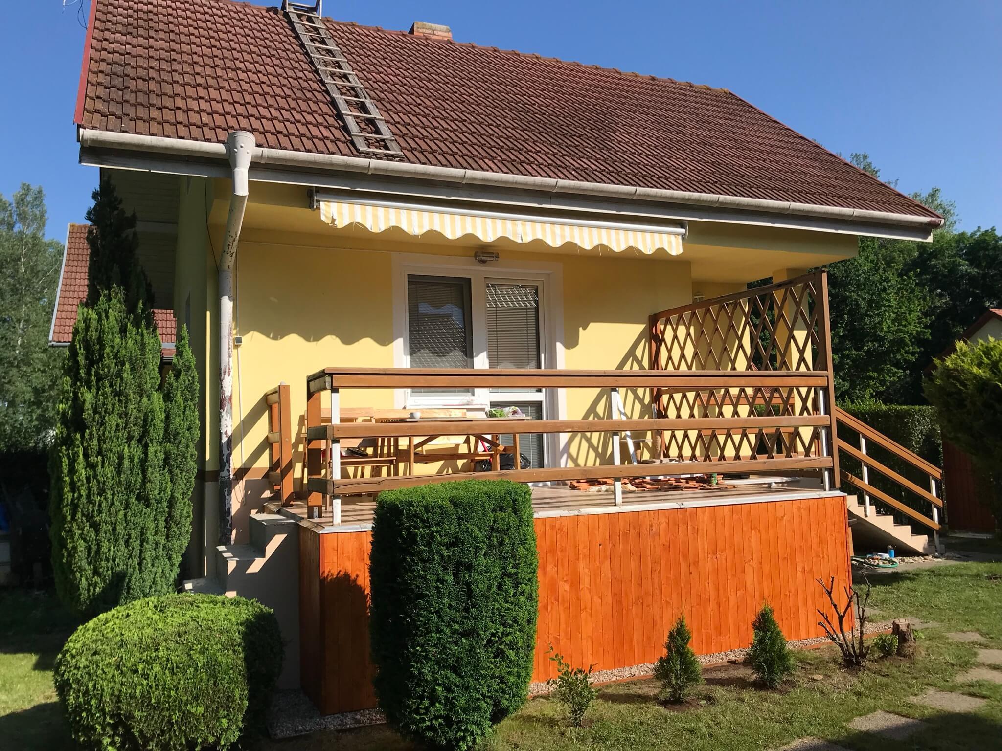 Predané: Exkluzívne 3 izbová chata o výmere 70m2 s 300m2 pozemkom, 2 podložná, v Gabčíkove pri hrádzi, kompe-0
