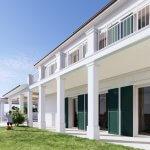 Veľký rozostavaný rodinný dom, 3NP spolu 355,13m2,pozemok 650m2,Novalja, na ostrove Pag, Chorvátsko-4