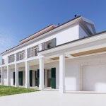 Veľký rozostavaný rodinný dom, 3NP spolu 355,13m2,pozemok 650m2,Novalja, na ostrove Pag, Chorvátsko-10