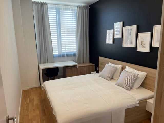 2 izbový byt úplne nový, centrum, Mýtna 50, 47,17m2, parkovanie, novostavba, zariadený, projekt Proxenta-39