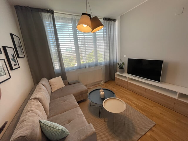 2 izbový byt úplne nový, centrum, Mýtna 50, 47,17m2, parkovanie, novostavba, zariadený, projekt Proxenta-22