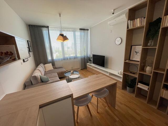 2 izbový byt úplne nový, centrum, Mýtna 50, 47,17m2, parkovanie, novostavba, zariadený, projekt Proxenta-0