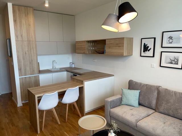 2 izbový byt úplne nový, centrum, Mýtna 50, 47,17m2, parkovanie, novostavba, zariadený, projekt Proxenta-1