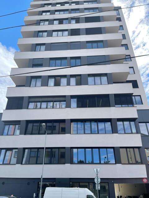 2 izbový byt úplne nový, centrum, Mýtna 50, 47,17m2, parkovanie, novostavba, zariadený, projekt Proxenta-10